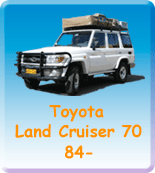 Toyota Land Cruiser 70 84-